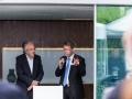 Eröffnung des weltweit ersten Aktivhauses