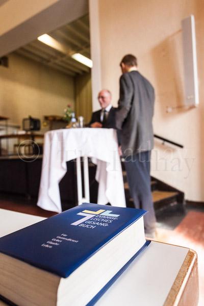 Am Samstag, 9. März 2013 trifft sich der evangelische Gesamtkirchengemeinderat Stuttgart in Kaltental. IM BILD: Hans-Peter Ehrlich