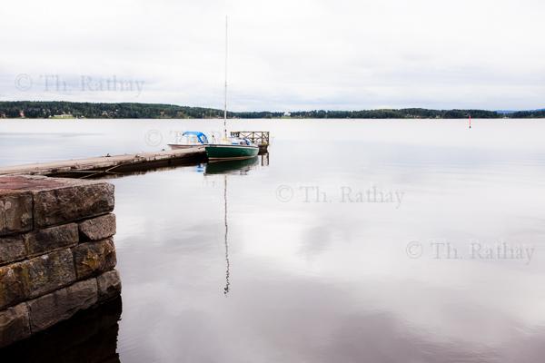 Arvikas kleiner Hafen