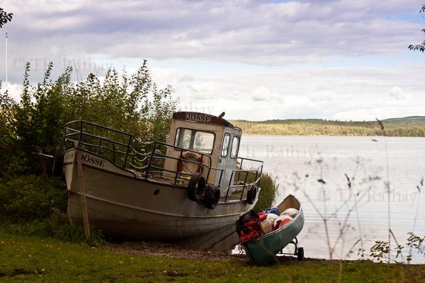 Kanutour auf dem Glafsfjorden