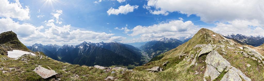 Passeiertal-Panorama