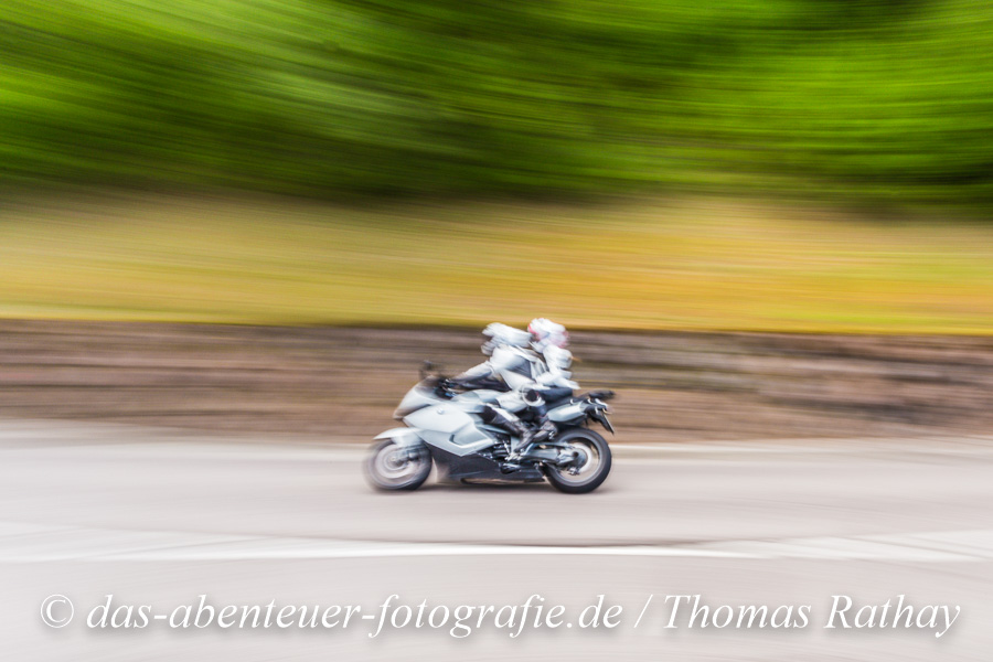 Alpen, Kurven, Motorrad