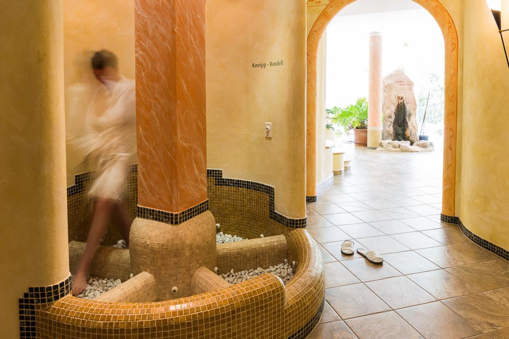 Wellnessbereich im Hotel Jägerhof.