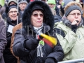 Stuttgart - Demonstration gegen das BAHNprojekt Stuttgart 21 - S21 am 23. Februar 2013 unter dem Motto: *Endstation Stuttgart 21 - bitte alle aussteigen!*
