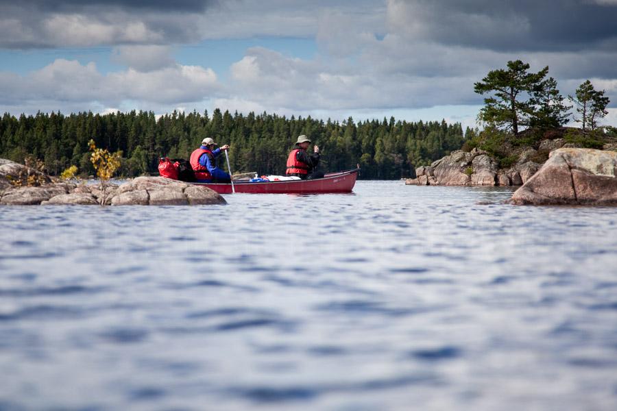 Paddeln im Naturreservat