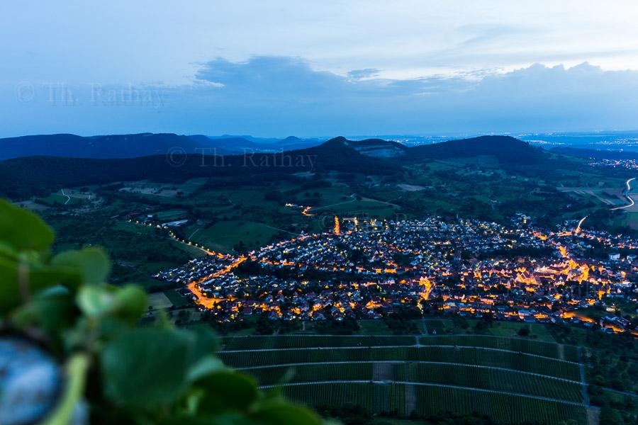 Wanderung auf dem Gustav-Ströhmfeld-Weg am Abend