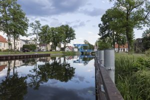 Juni: Hubbrücke in Zerpenschleuse