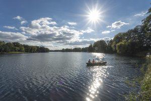 Juli: Ruderboot auf dem Stolzenhagener See