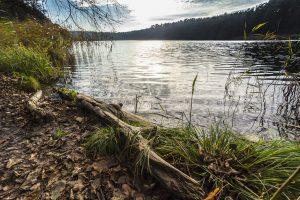 Oktober: Strehlesee in Prenden