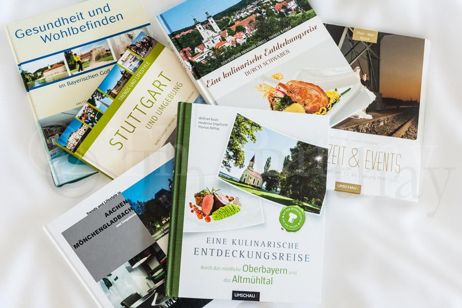 Bücher mit meinen Bildern aus dem *Neuen UMSCHAU Buchverlag*