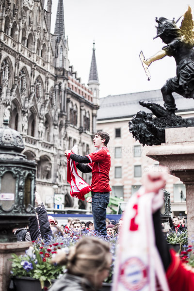 München feiert das Champions League Finale