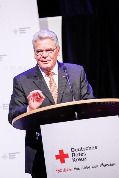 Festakt *150 Jahre Rotes Kreuz in Deutschland* am 31. Oktober 2013