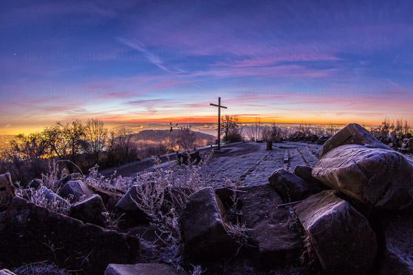 Morgens auf dem Birkenkopf - Monte Scherbellino