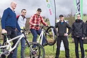 Pressekonferenz zum neuen Projekt *Schaeffler Mountainbike Arena Sasbachwalden*