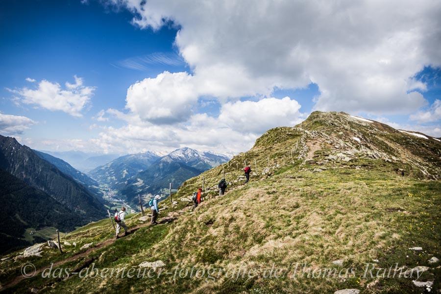 Rathay wandern Passeier Alpen Alpiner Fotokurs im Passeiertal