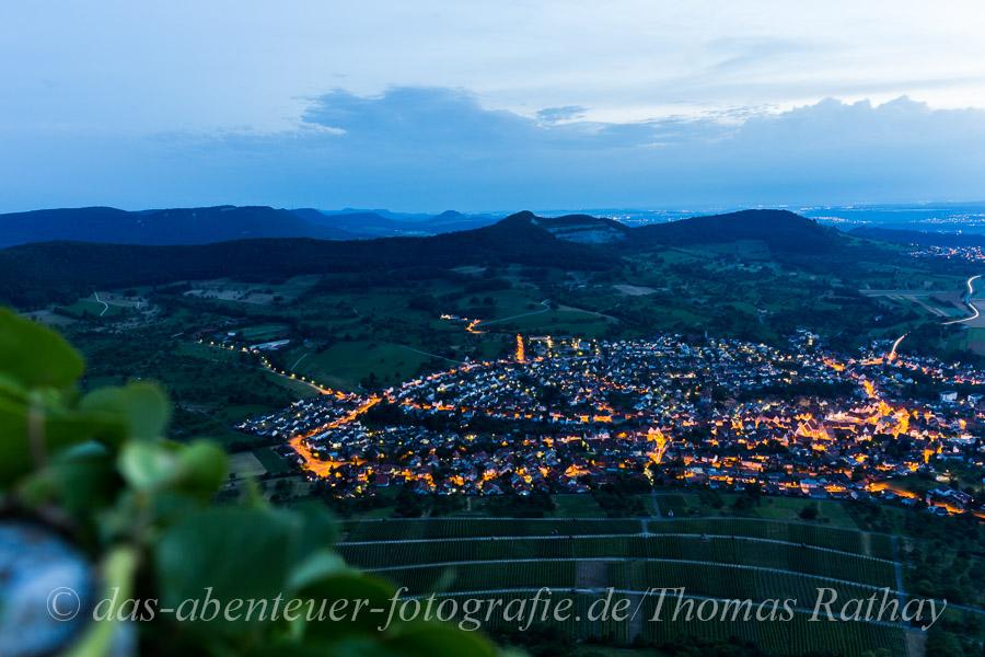 Rathay Burg Neuffen Alb Abend Bild der Woche 27   2014