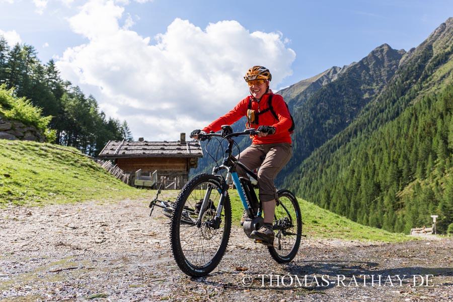 E-Mountainbiketour in Südtirol