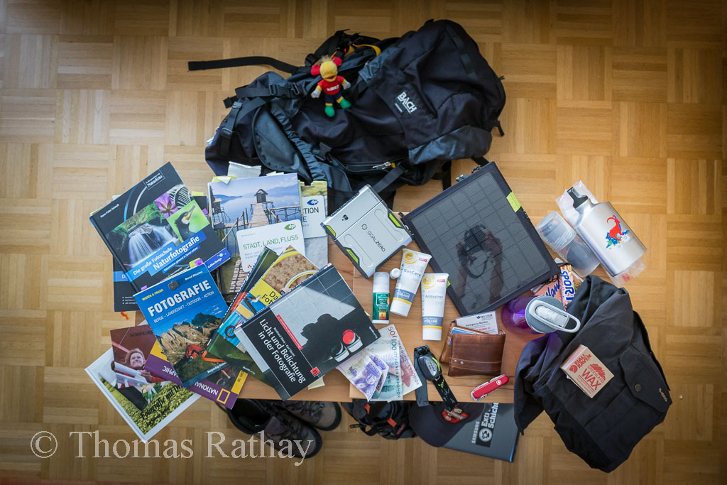 Ich packe meinen Rucksack ...
