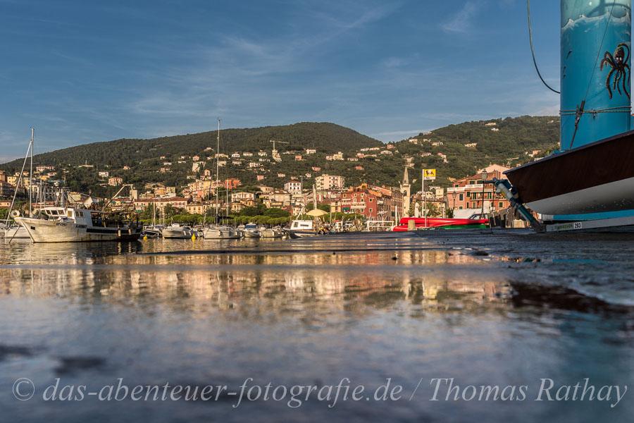 Hafenstadt am Mittelmeer