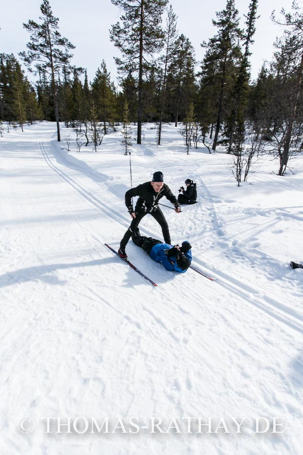 Skitour auf dem Idrefjäll
