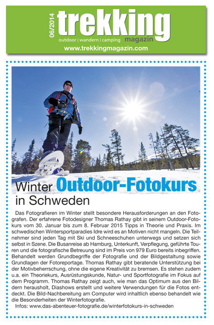 Trekking Magazin Winter