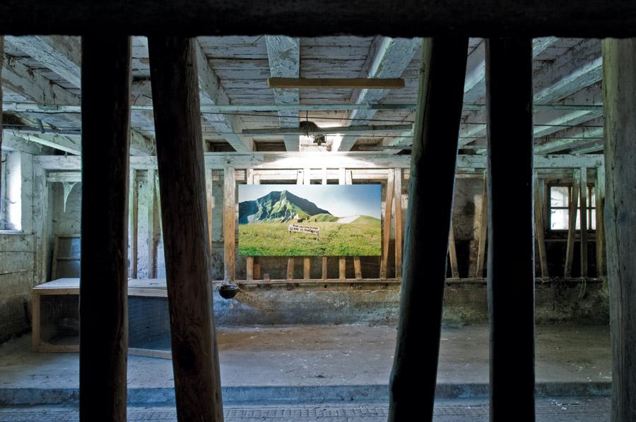 Ausstellung im Kuhstall