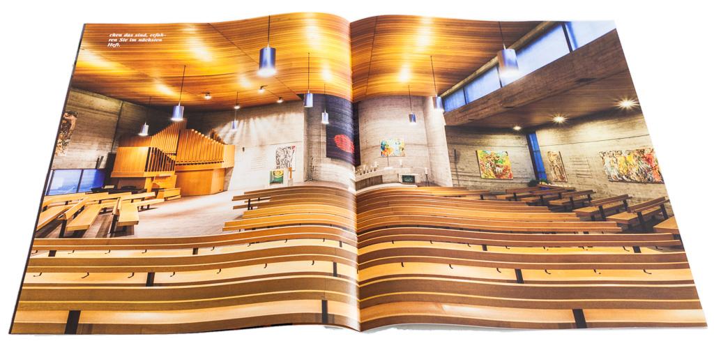 Architekturfotografie für das *IN* der evangelischen Kirche in Stuttgart.