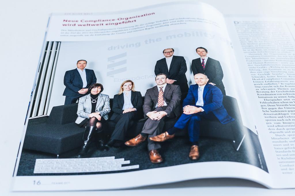 Eberspächer Mitarbeiter-Magazin *team*