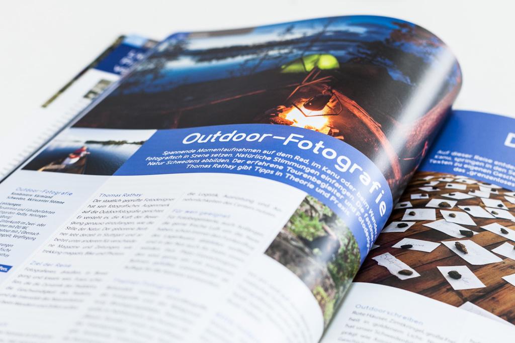 Rucksack Reisen Katalog