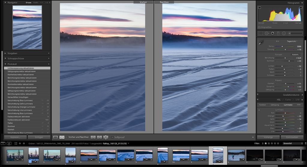Lightroom Optimierung
