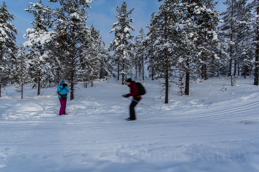 Wintersport in Dalarna