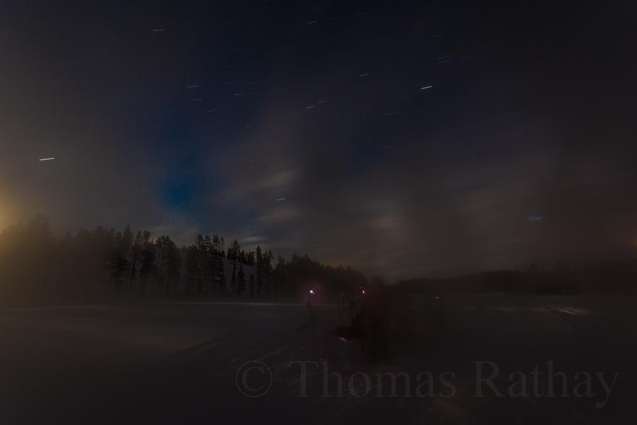 Nachtfotografie in Schweden