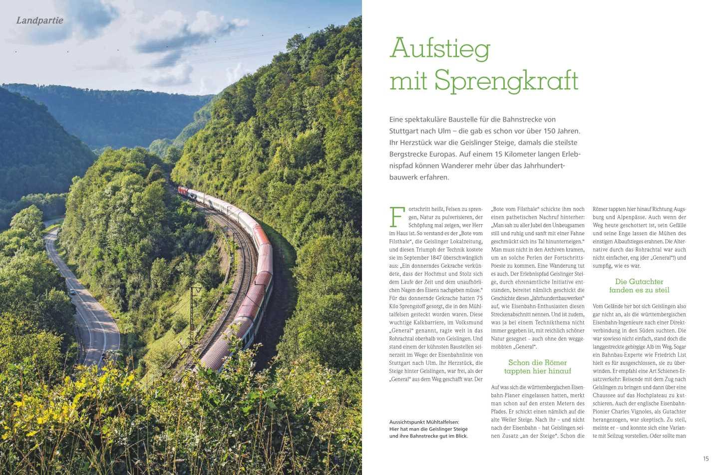 Wanderfotos Geislinger Steige