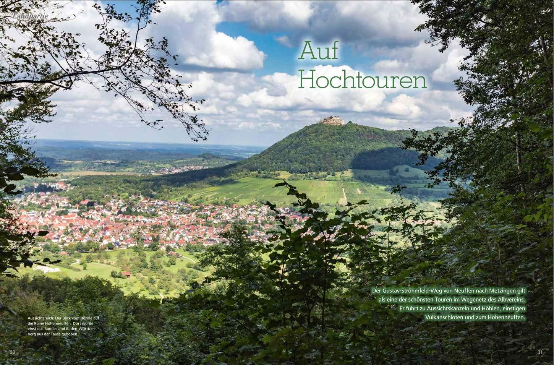 Gustav Ströhmfeld Weg auf der Schwäbischen Alb