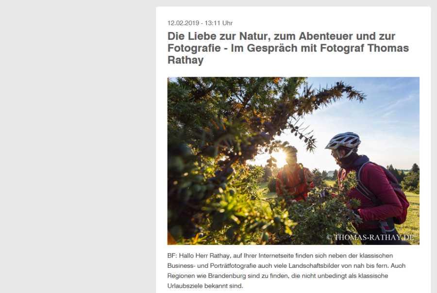 Interview auf Berufsfotografen.com