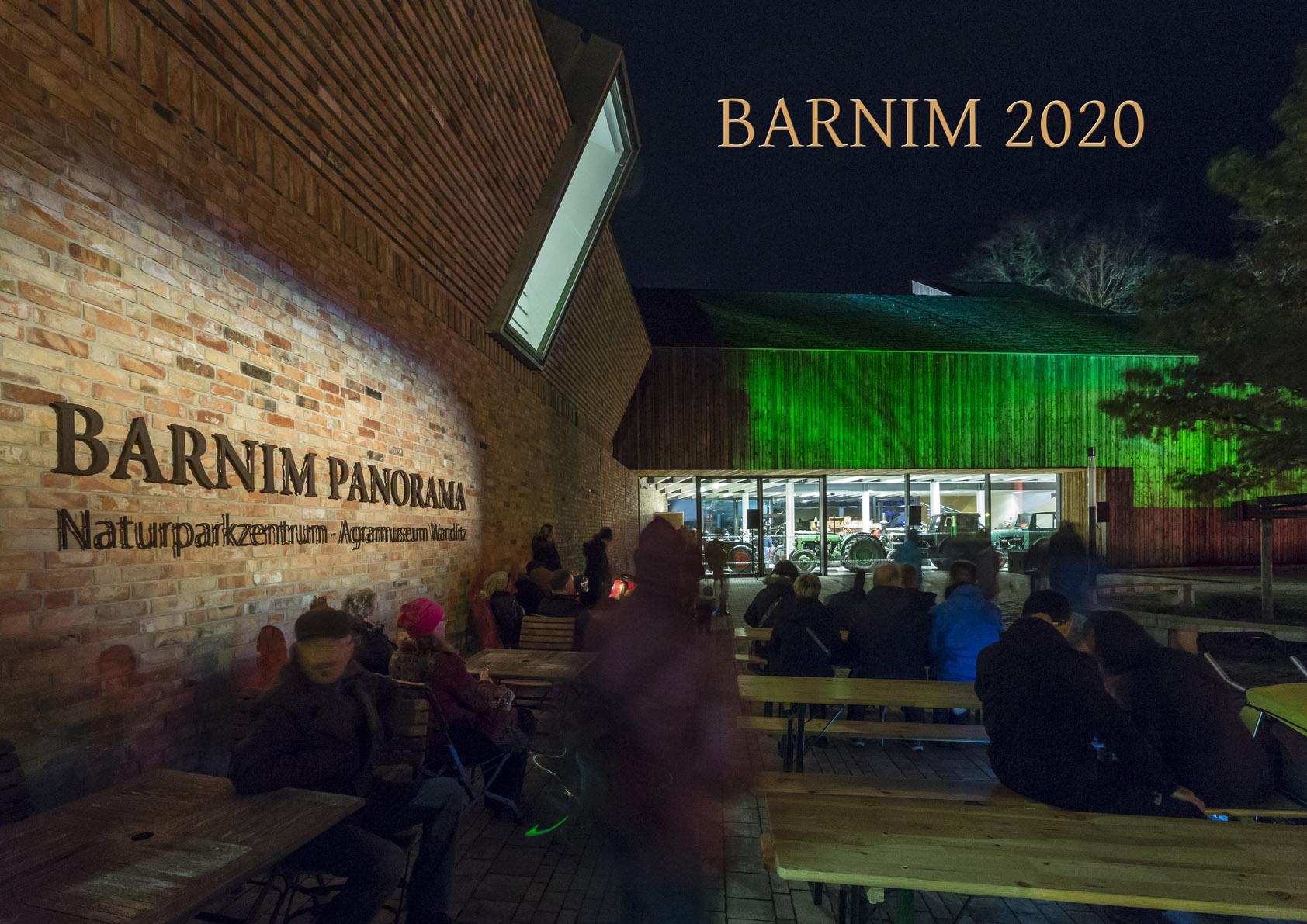 Deckblatt des BARNIM Kalenders 2020