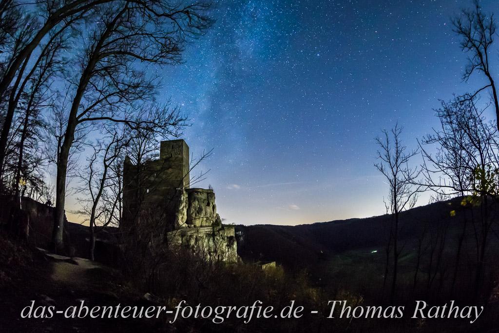 Nachtfotografie auf der Schwäbischen Alb