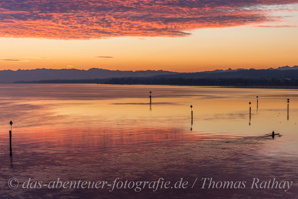 Sonnenaufgang am Bodensee