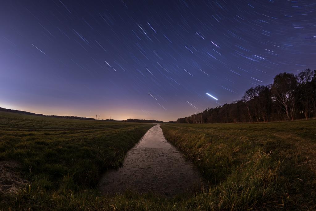 Sternenhimmel und Bibergraben