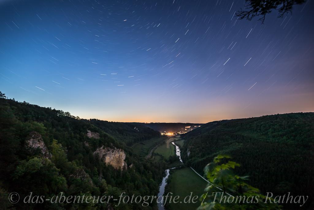 Nachtfotografie Schwäbische Alb - Oberes Donautal