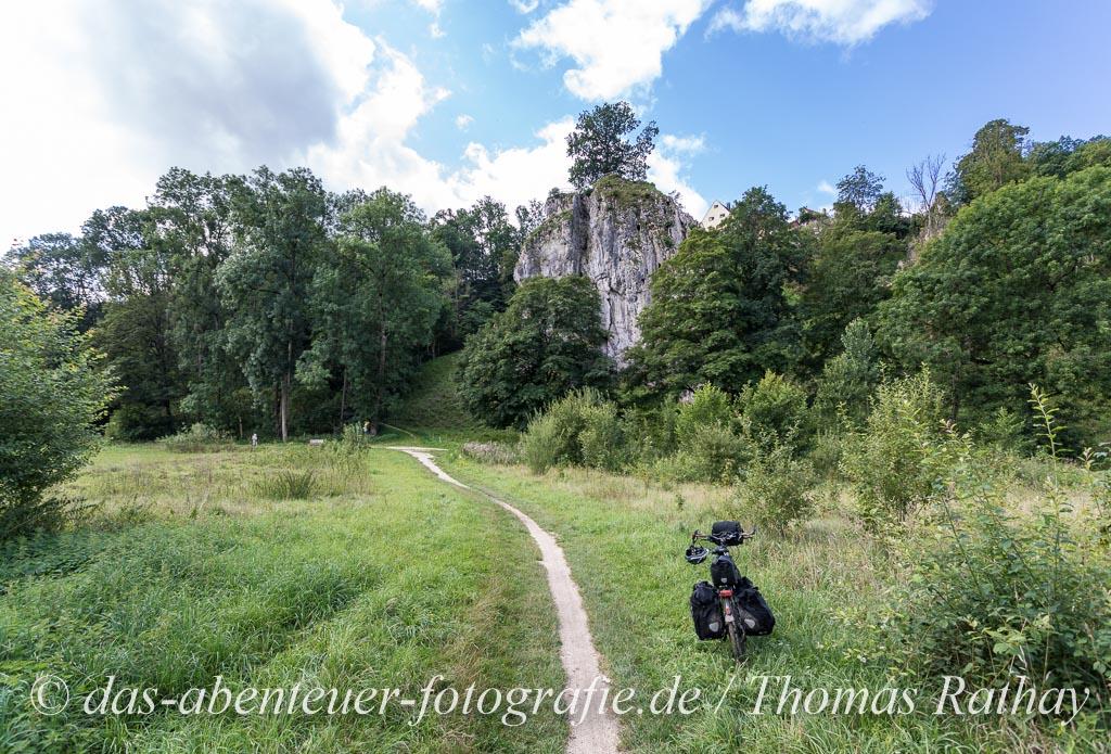 Mit dem Fahrrad über die Schwäbische Alb