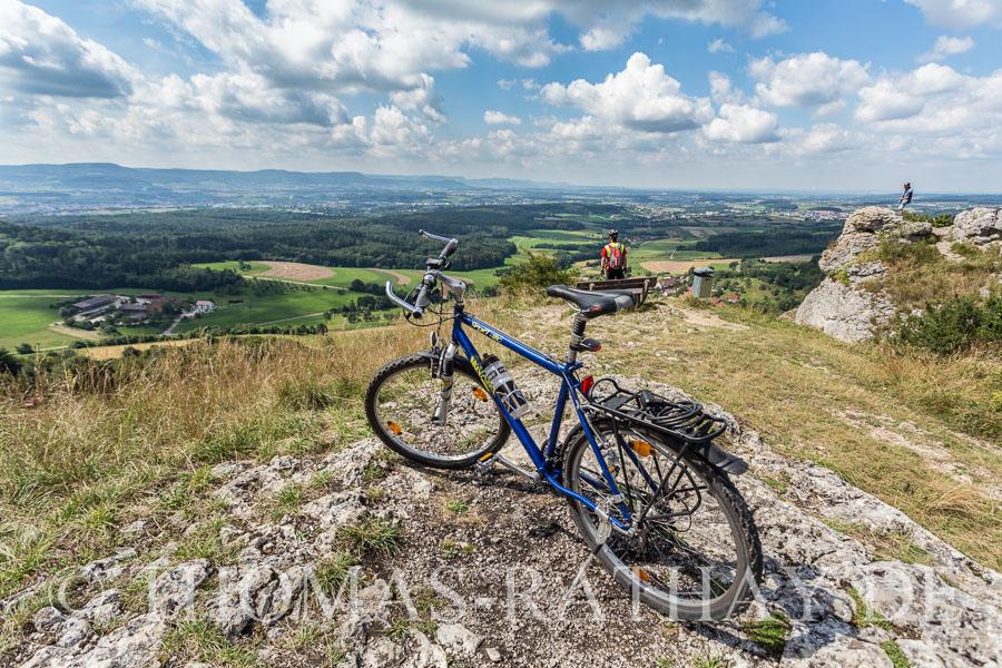 Super Aussichtspunkt über das Stauferland