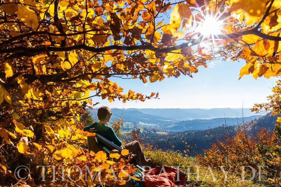 Schwäbische Alb, Alblust, Herbst
