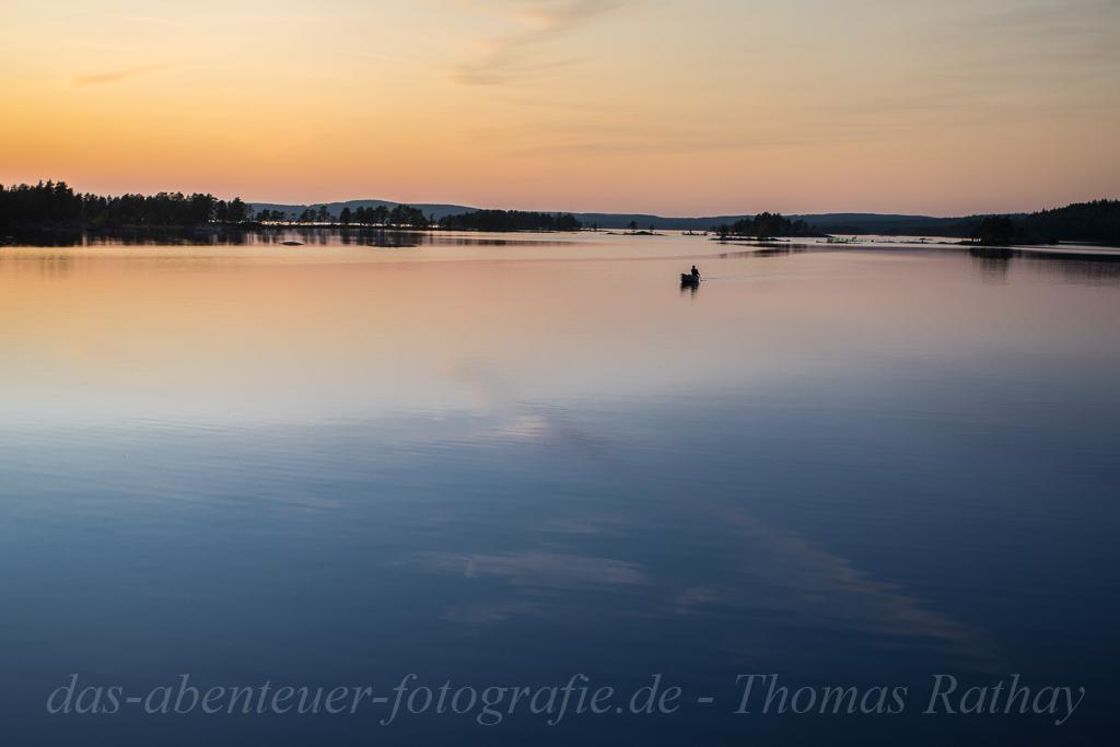 Stille auf dem Stora Gla im Glaskogen Naturreservat