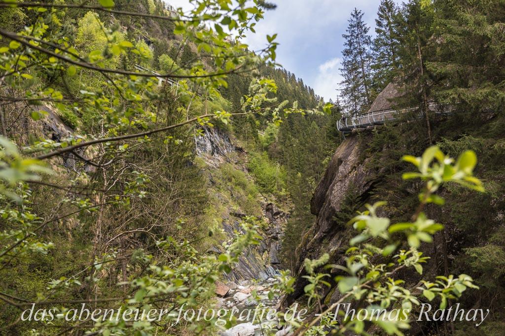 Der Passerschluchtensteig in Südtirol