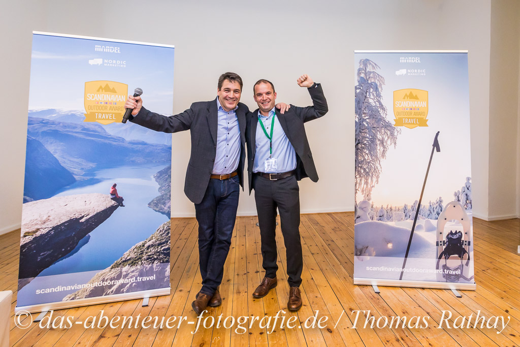 Verleihung des Scandinavian Outdoor Award TRAVEL auf der ITB 2019 in Berlin