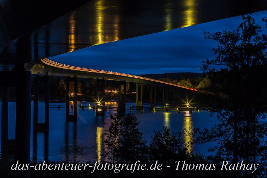 Brücke über den Glafsfjorden in Schweden