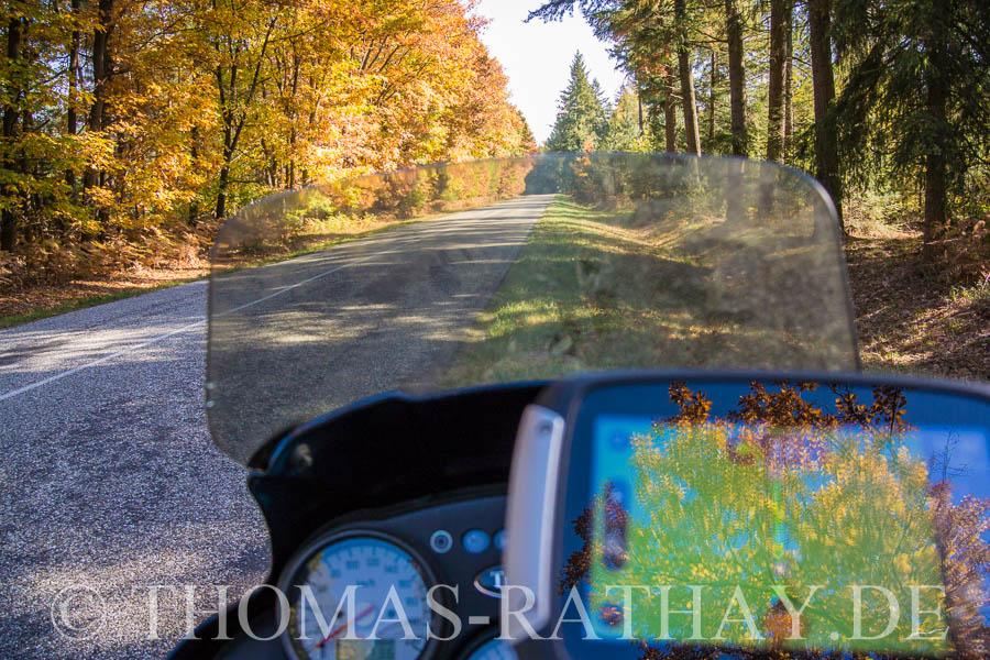 Herbst, Motorradfahren, Biketour