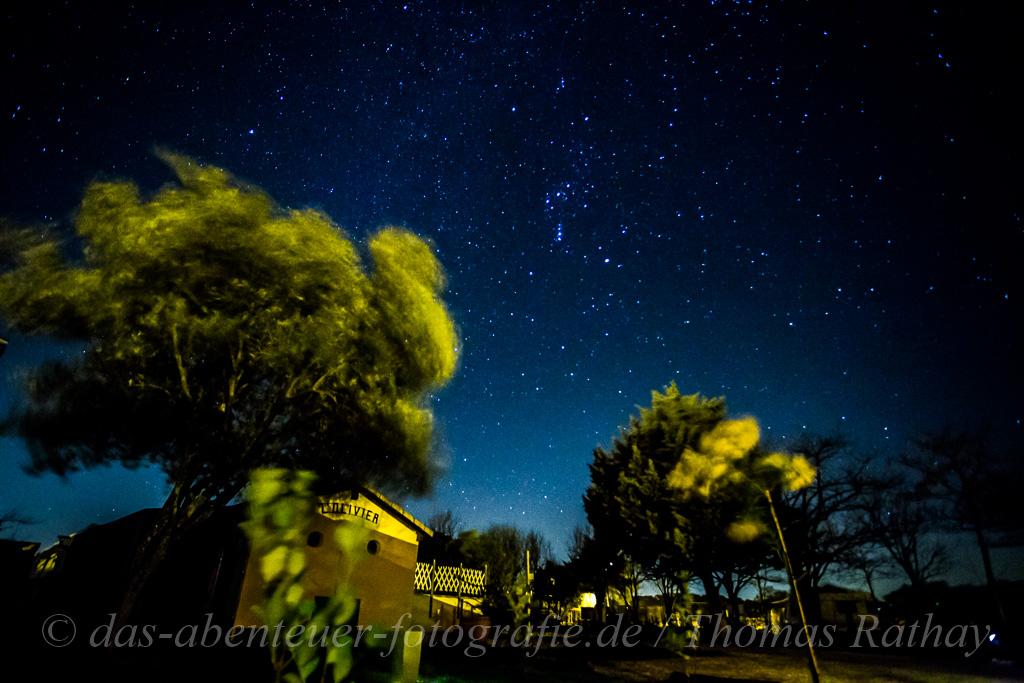 Astrofotografie mit Vordergrund