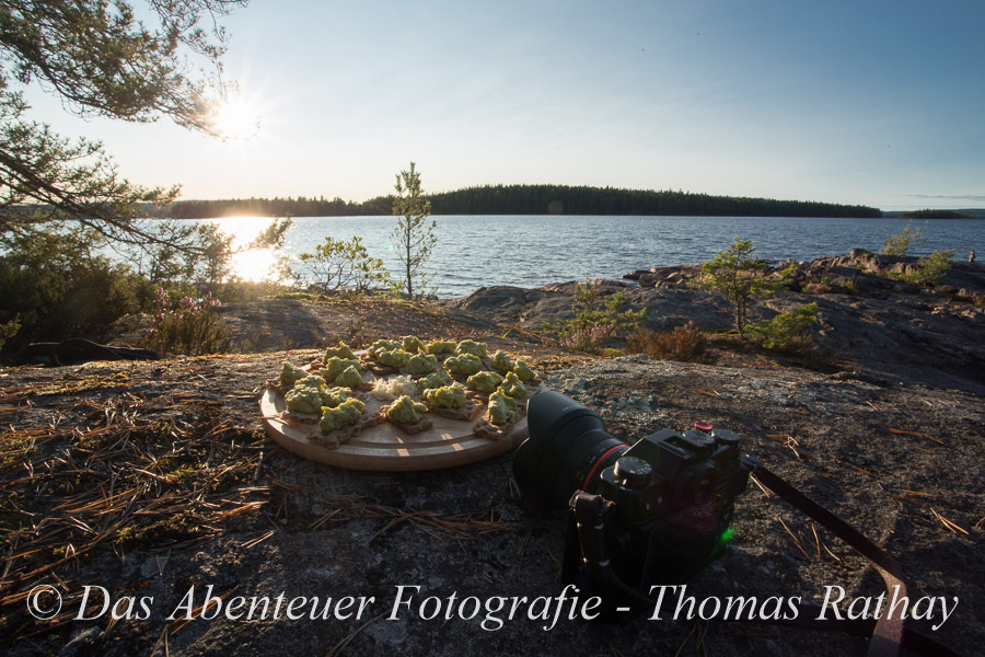 Outdoorfotografie, Food, Fotokurs,Schweden